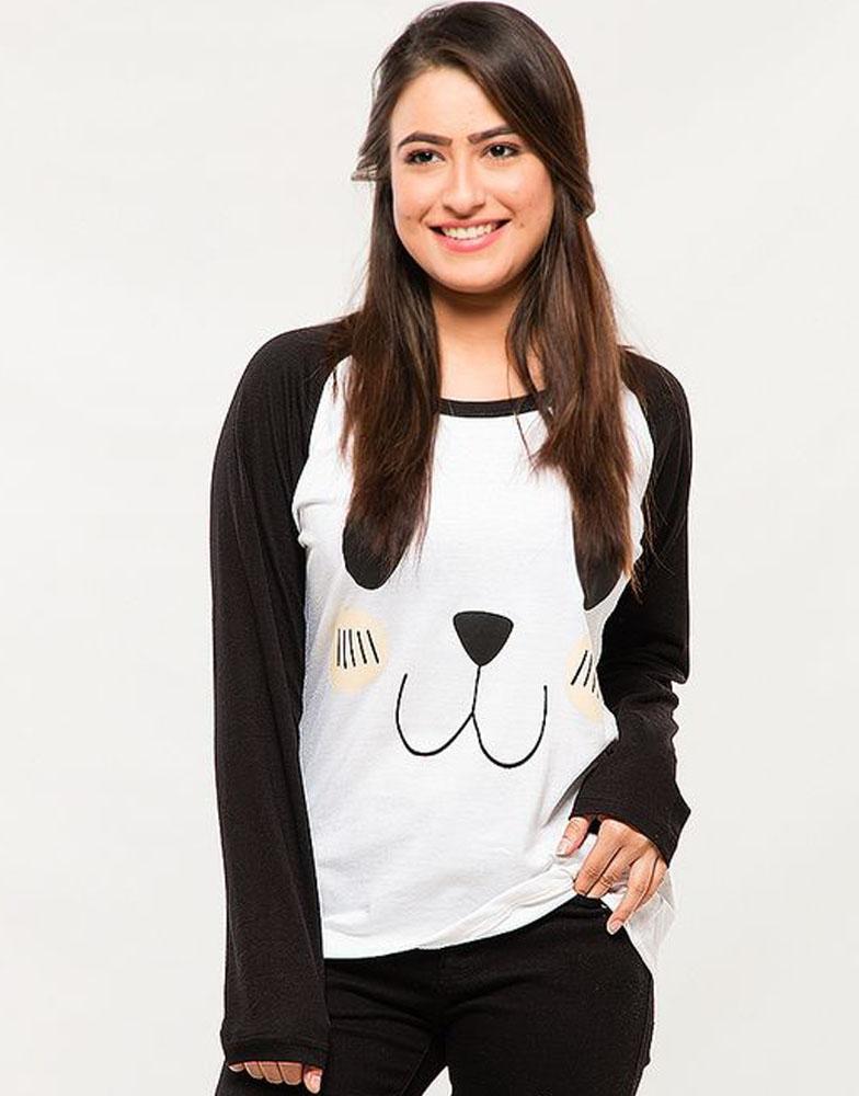 24897263c3 Panda Black And White Tee - Sa Bazaar